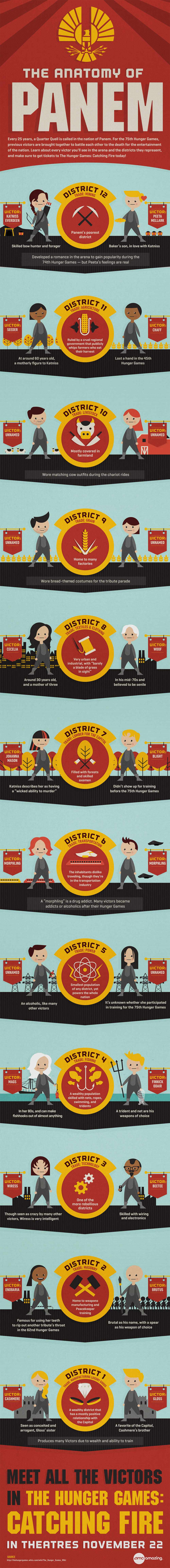 The Hunger Games: Panem's Competitors