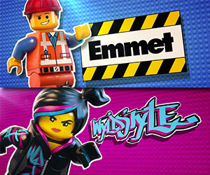 The LEGO Movie: Meet Emmet and Wyldstyle