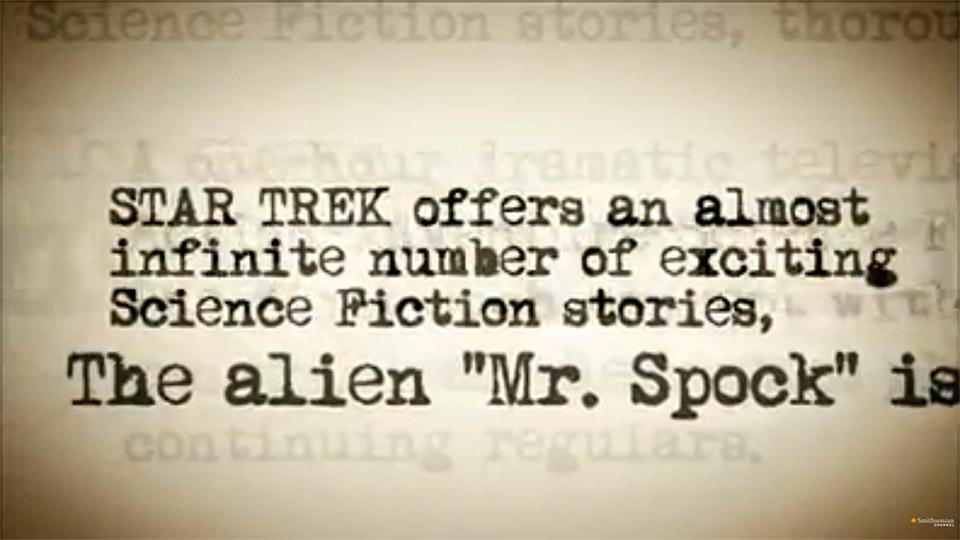 Smithsonian's The Real Story: Star Trek