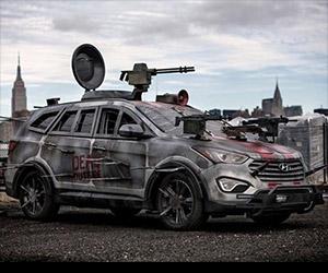 The Walking Dead Hyundai Survival Machine