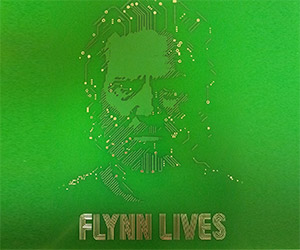 Tron Circuit Board: Flynn Lives