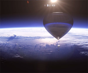 Travel Into Space Via Balloon as a Space* Tourist