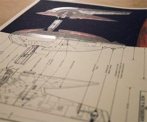 Boba Fett's Slave 1 Starship Blueprints