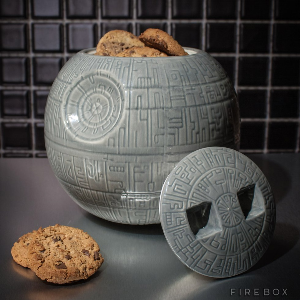Death Star Cookie Jar: Use the Fork, Luke