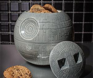 Death Star Cookie Jar: Use the Fork, Luke