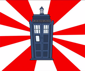 Anime Doctor Who: 50th Anniversary Special
