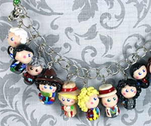 Charming Doctor Who Chibi Charms