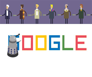 Google Doodle Celebrates 50 Years of Doctor Who