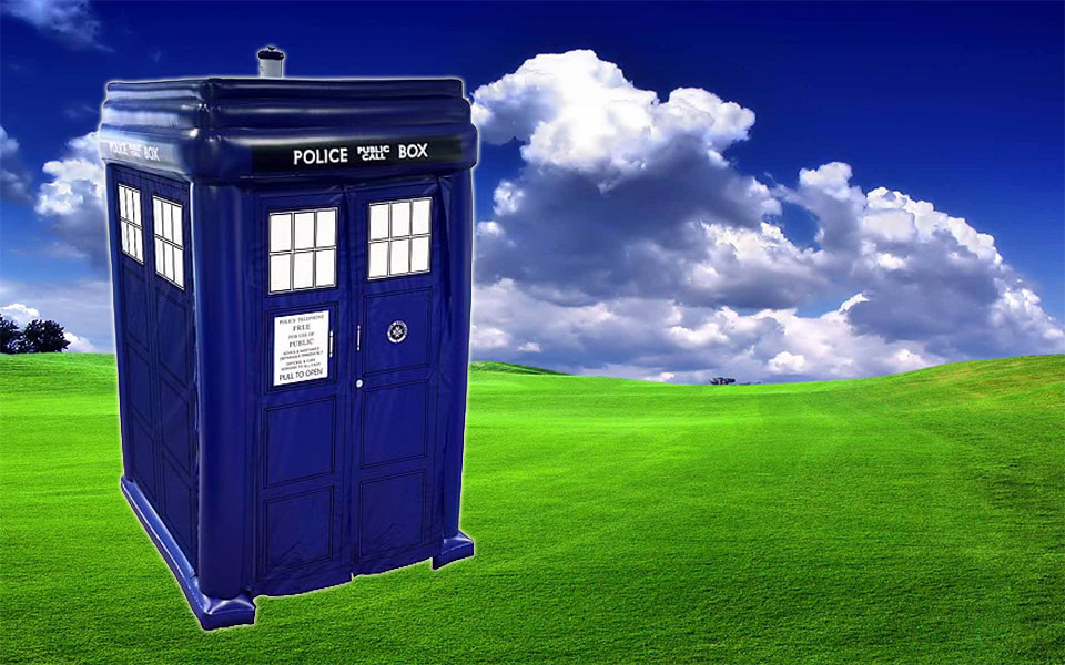 Doctor Who Inflatable TARDIS