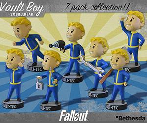Fallout 3 Vault Boy Bobbleheads
