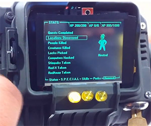 Working Replica Fallout PIP-Boy 3000