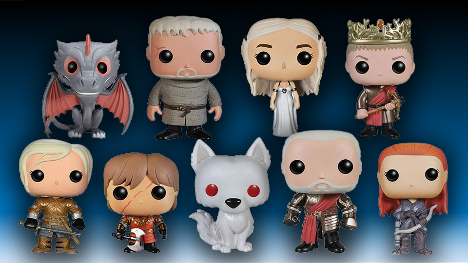New Funko Game of Thrones Vinyl Figures