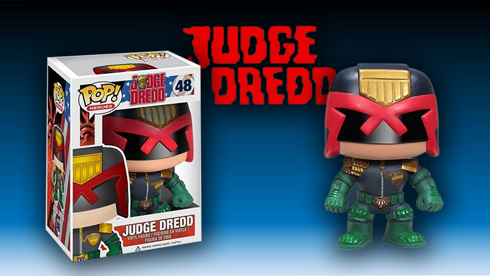 Funko Pop! Judge Dredd Vinyl Figure