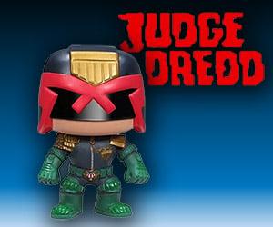 Funko Pop! Judge Dredd Vinyl Figure