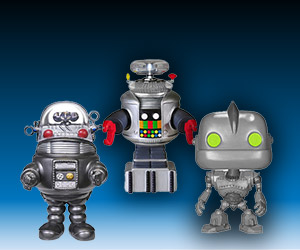 New Funko Pop! Vinyl Robot Figures