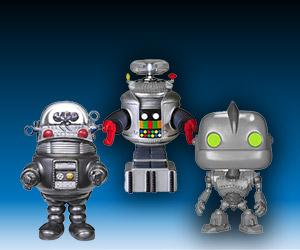 New Funko Pop! Vinyl Robot Figures
