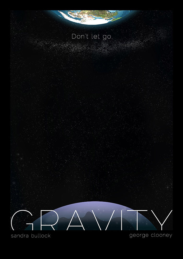 Gravity: Alternative Movie Posters