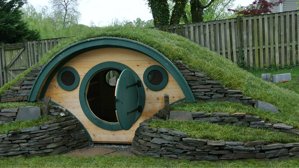 Own Your Own Hobbit Hole Playhouse
