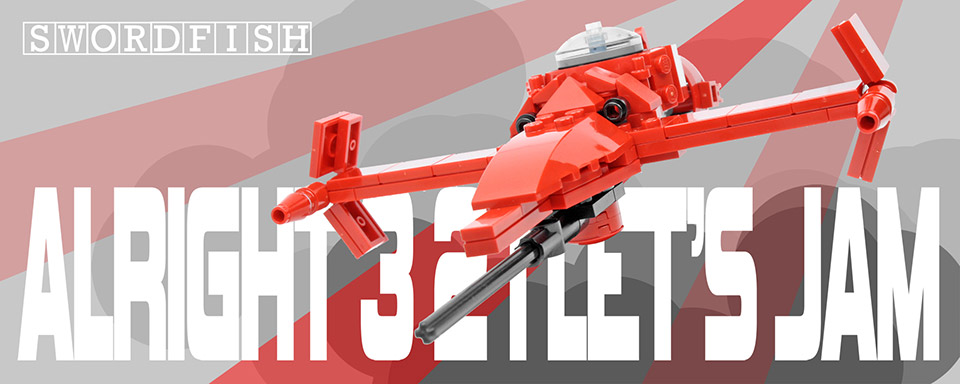 Swordfish Custom LEGO Kit
