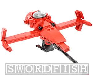 Swordfish Custom LEGO Kit
