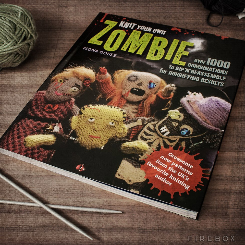 Knit Your Own Zombie: The Knit of the Living Dead