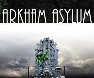 Incredible Batman Arkham Asylum LEGO Creation
