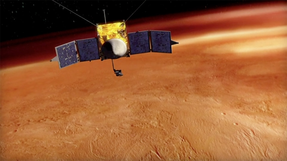 NASA Mars MAVEN Probe to Study Planet's Atmosphere