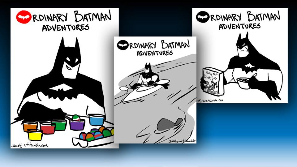 Ordinary Batman Adventures: Animated GIFs