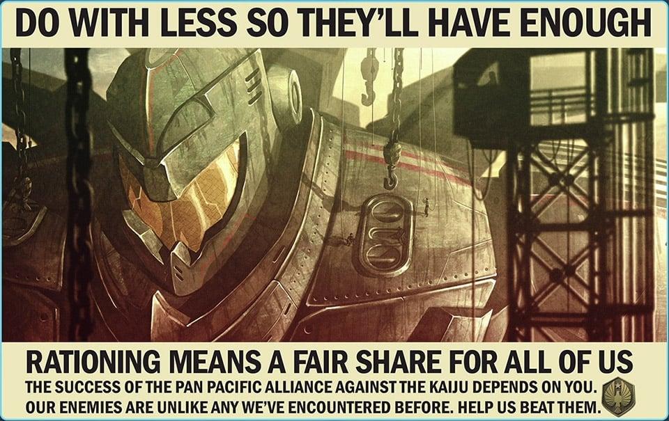 Pacific Rim Jaeger Propaganda Posters