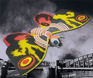 S.H. MonsterArts Mothra Collectible