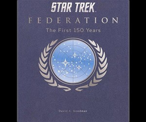 Star Trek Federation: The First 150 Years Book