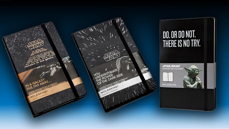 Star Wars Limited Edition Moleskine Notebooks