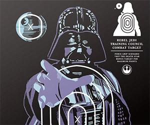 Star Wars Firing Range Target Prints
