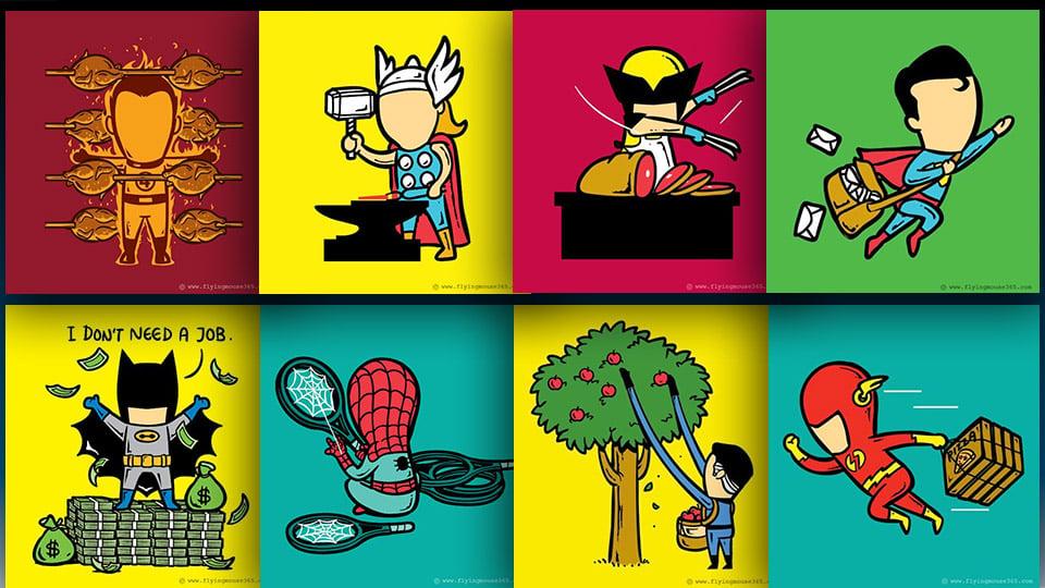 Odd Jobs for Superheroes