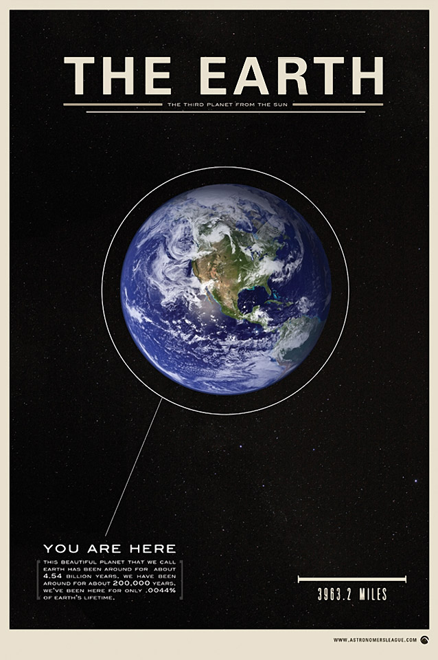 The Astronomer's League: Poster Series