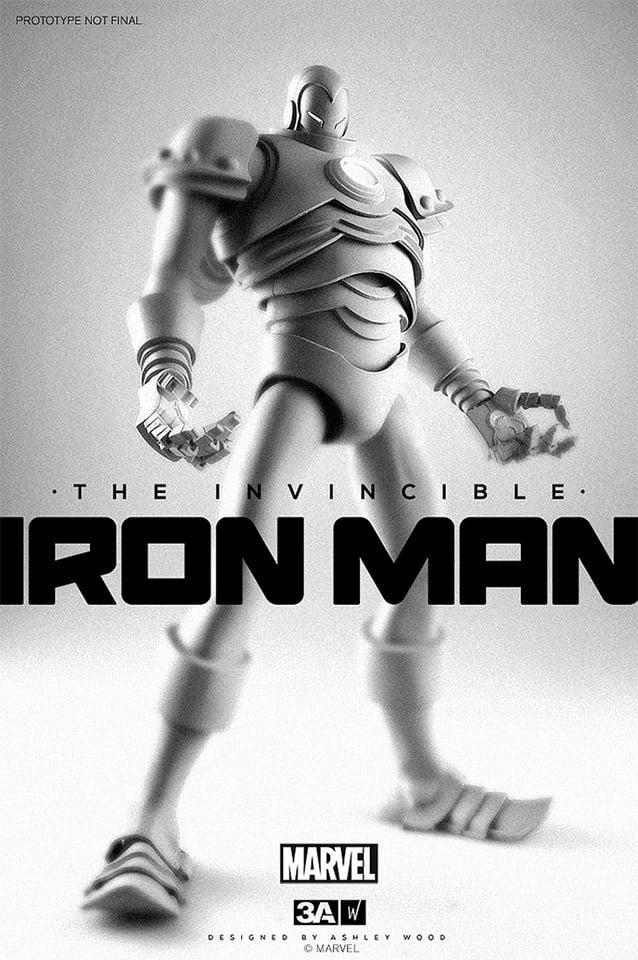 The Invincible Iron Man: 1/6 Scale Figure