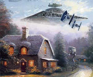 Thomas Kinkade: Painter of the Dark Side