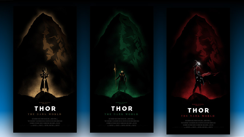 Alternative Posters for Thor: The Dark World