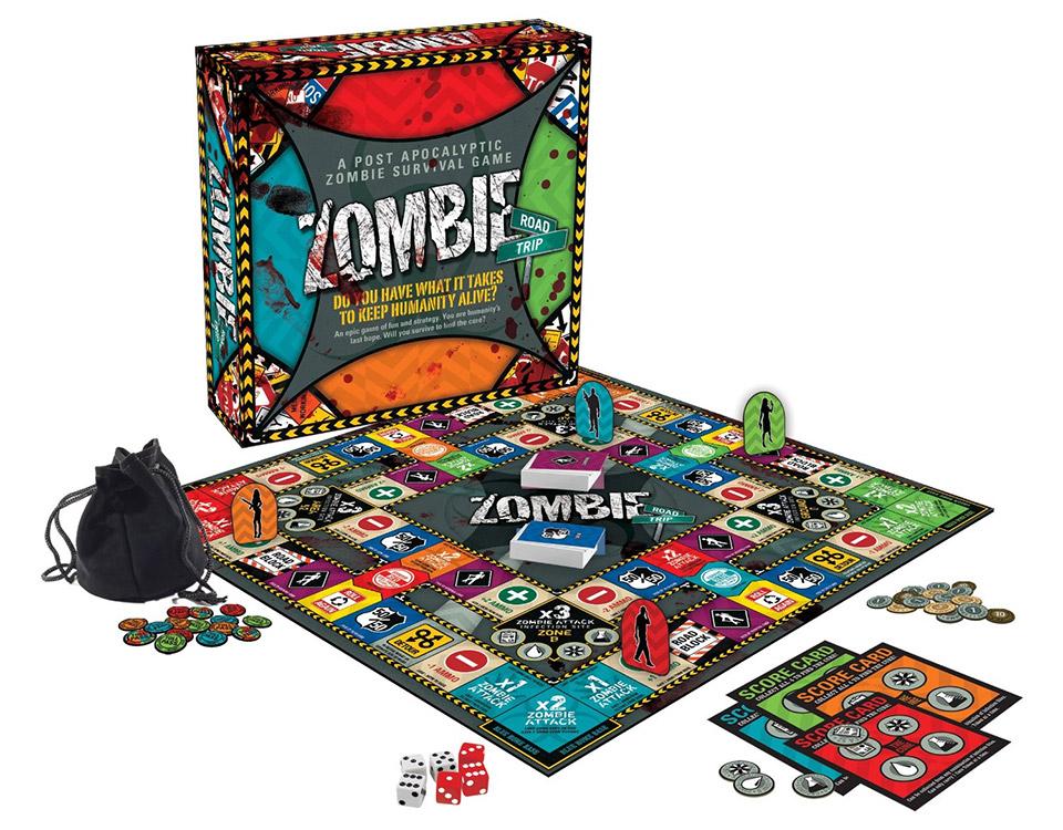 Zombie Board Games Zombie Board Game