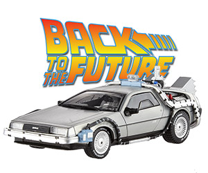 Back to the Future Time Machine Scale Model