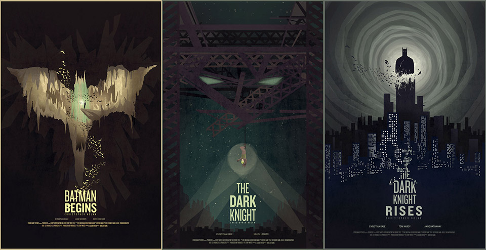 Batman Trilogy: Alternative Movie Posters
