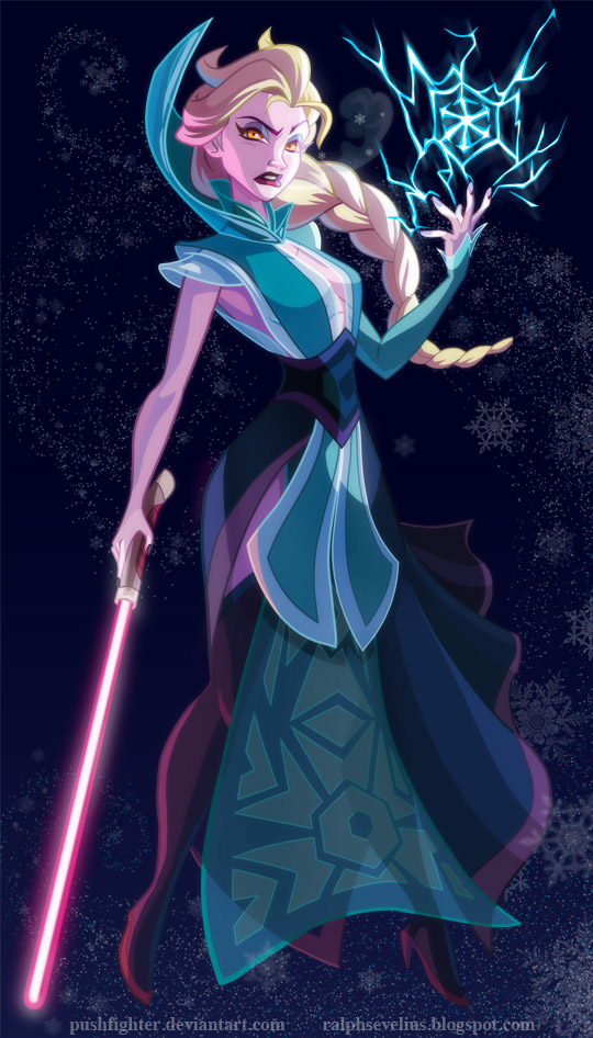 Disney Princesses Visit the Star Wars Universe