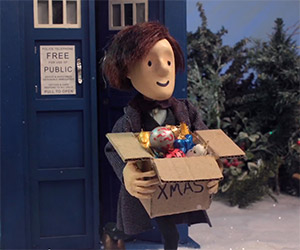 The Doctor Puppet: A Timelord Christmas