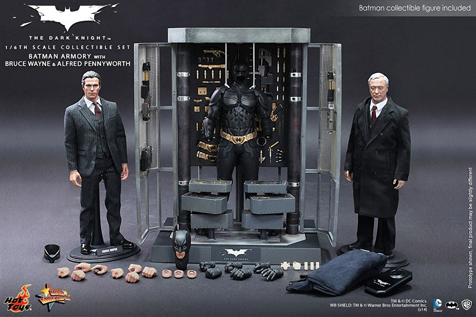 The Dark Knight: Batman Armory, Bruce and Alfred