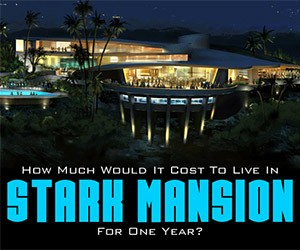 Iron Man: The Annual Cost of Tony Stark's Mansion