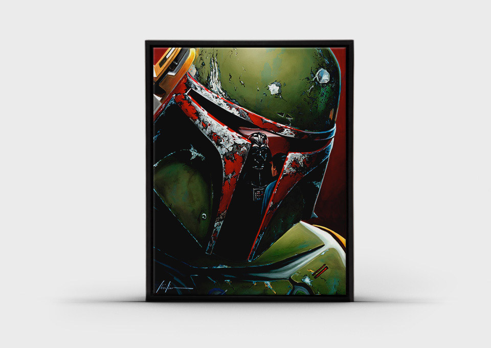 Incredible Star Wars Reflections Art Collection