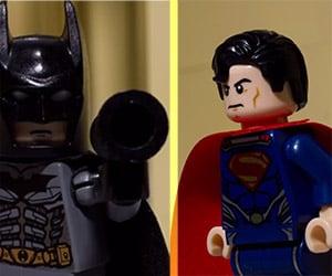 LEGO Batman vs. LEGO Superman