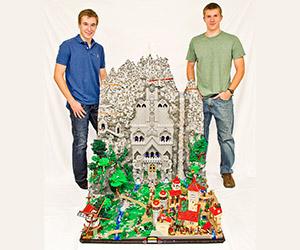 The Hobbit: 80,000 Piece LEGO Erebor