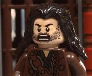 The LEGO Hobbit: Kili Gets Left Behind