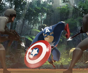 Marvel Superheroes Brought to You by Pixar
